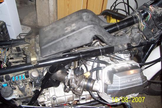 vue du moteur
